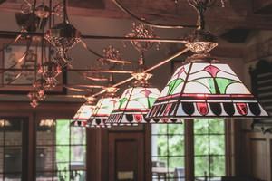 Custom Billiards - Custom Stained Glass Lighting