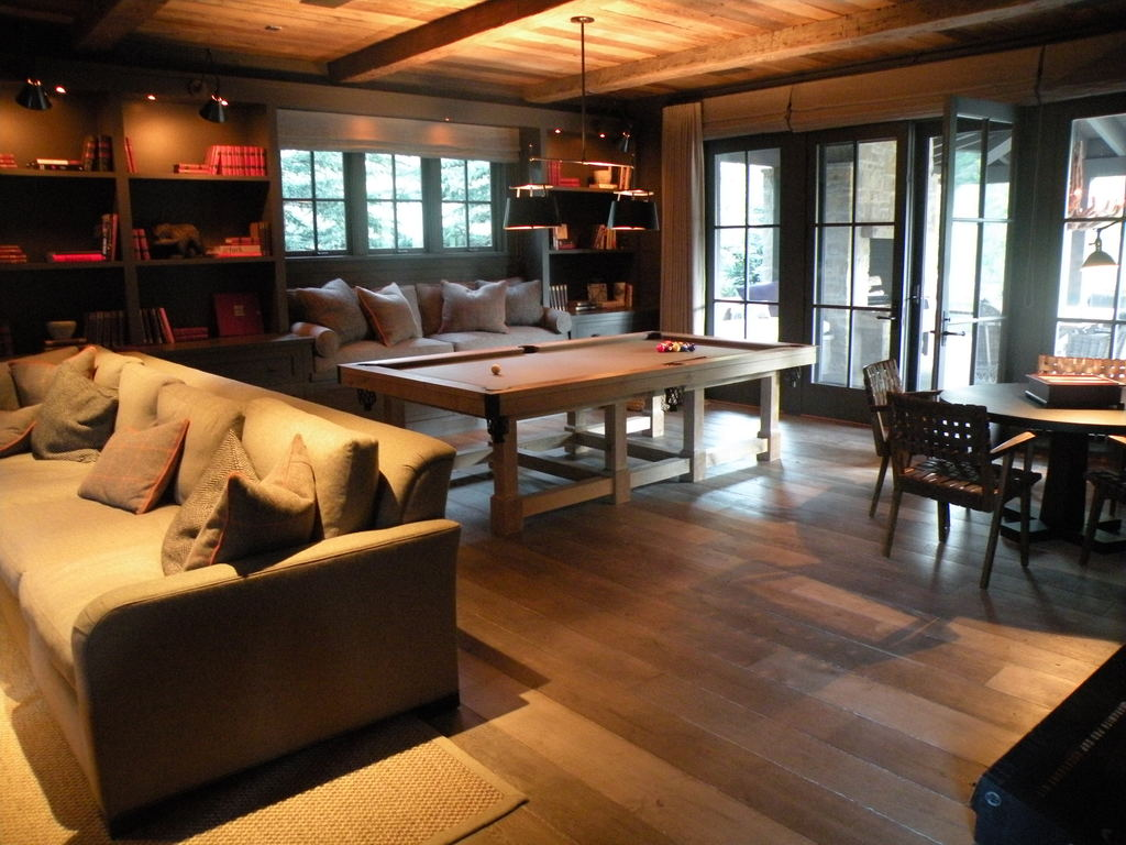 Sun Valley, Arts & Crafts, Solid Reclaimed White Oak
