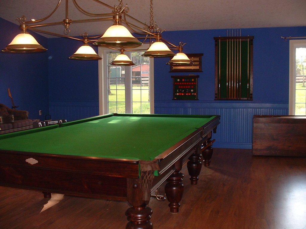 Tschirhart's Custom Billiards 6x12 World Championship Style Snooker Table