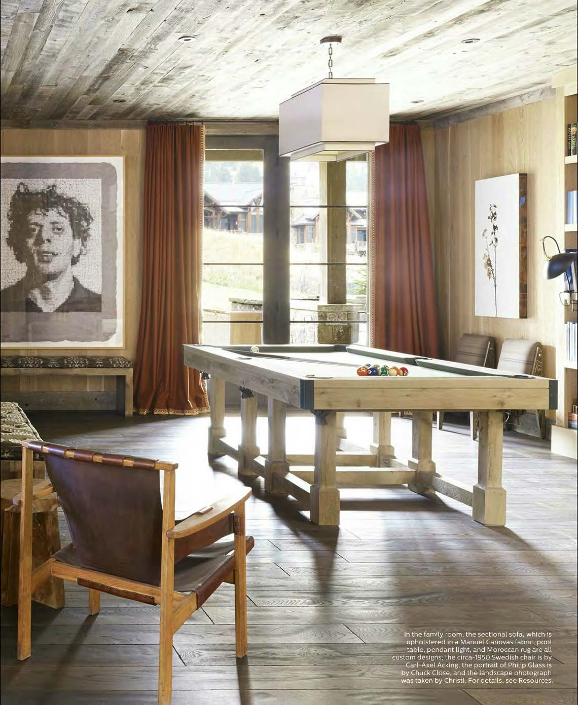 Arts & Crafts Pool Table