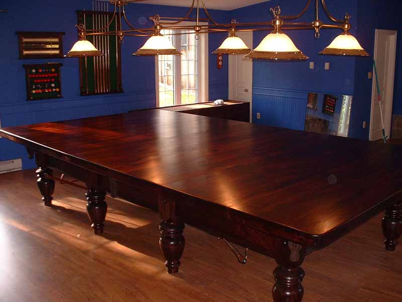 Custom Billiards Snooker Table dinning top