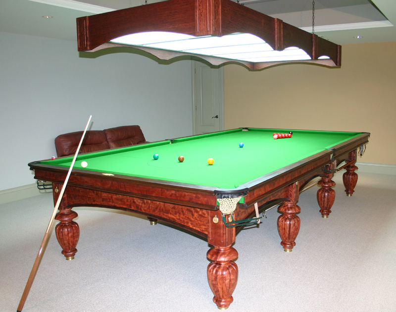 Tschirhart's Custom Billiards 6x12 Snooker Table
