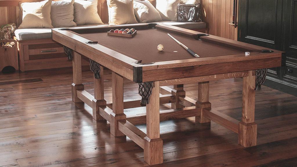 Arts & Crafts Custom Pool Table
