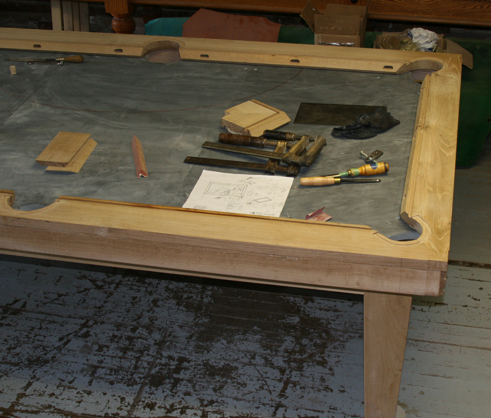 The Peppers Arts & Crafts Pool Table Production