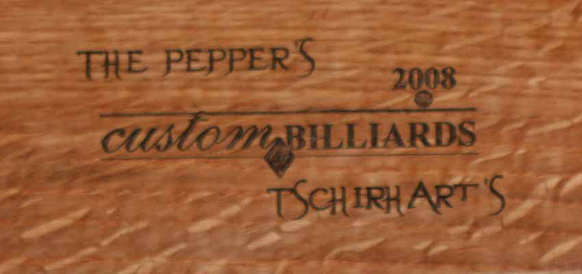 Peppers The Name Plate