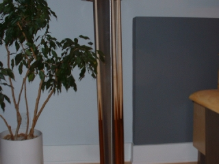 Custom Stainless Steel and Curly Maple  Cue Rack